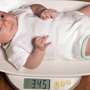Baby On Scales