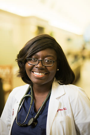 Dr. Brittney Anderson, third-year resident at The University of Alabama Family Medicine Residency